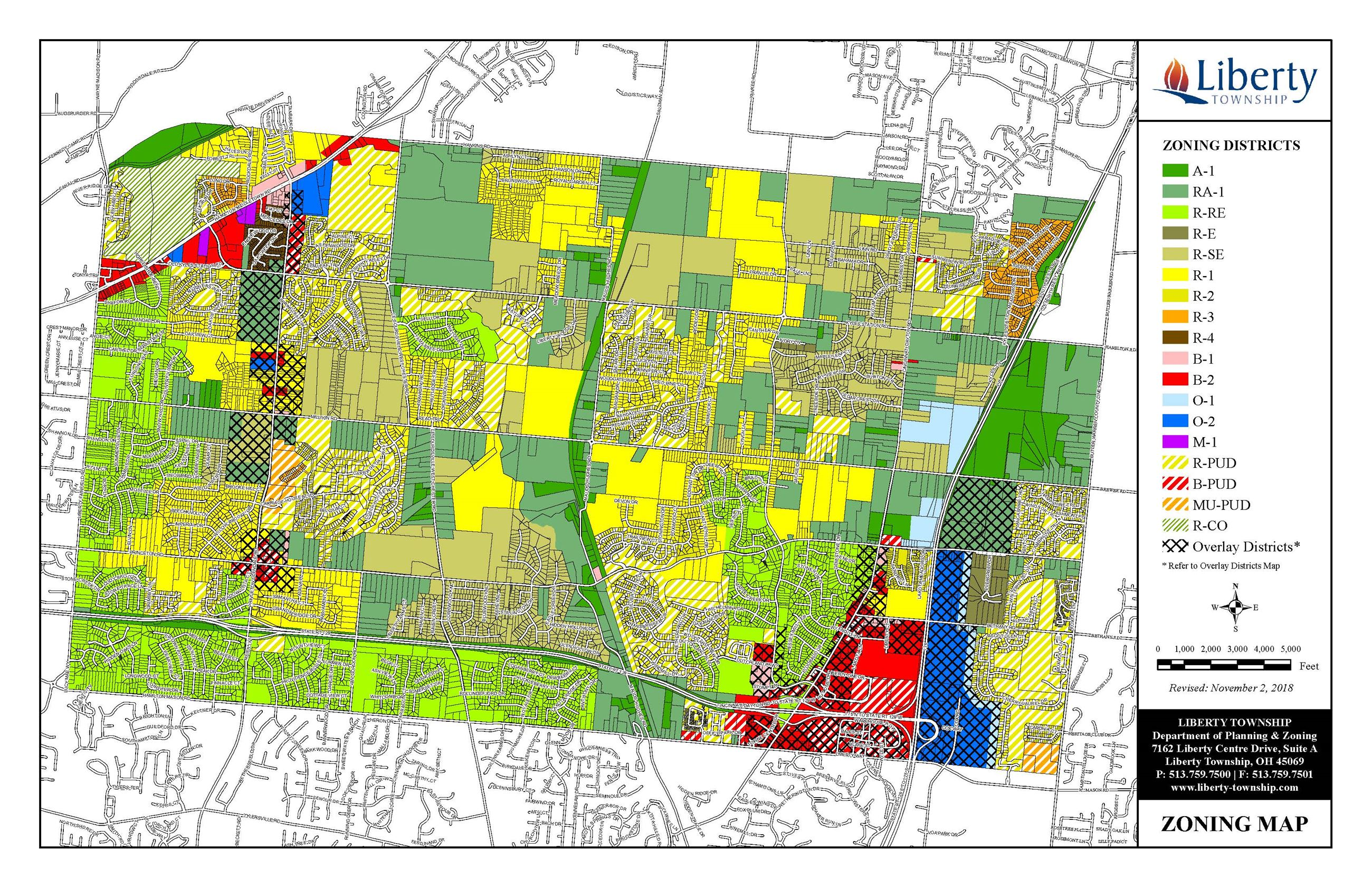 Liberty Twp Zoning Map 11_2_18
